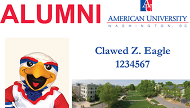 Clawed Z. Eagle's Alumni One Card