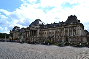 The exterior of the Royal Palace