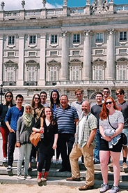 Summer 2016 Global Scholars group while on tour.