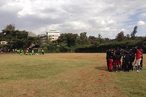Observing or participating in Nairobi sports is something AU Nairobi students love to do!