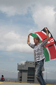 Do you know what the colors and symbols on the Kenyan flag mean?