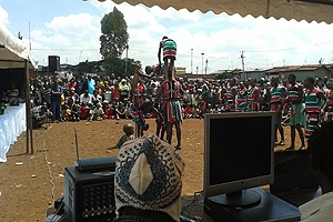 Performances by Kenyan acrobats are something that you might come across interning in different Nairobi neighborhoods or locales