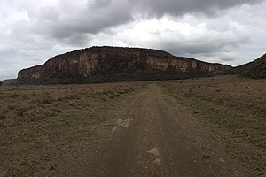 Hell's Gate National Forest in Kenya.