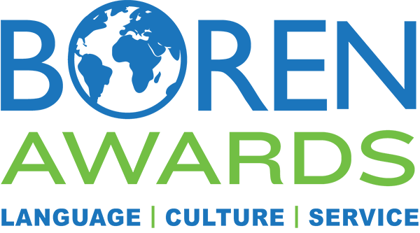 Boren Awards: Language, Culture, Service