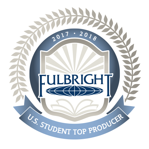 Fulbright U.S. Student Top Producer, 2017-2018 logo