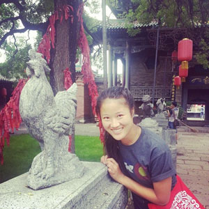 Zoe Berling study in China