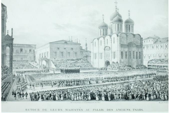 Image of St. Petersburg in the mid-nineteenth century