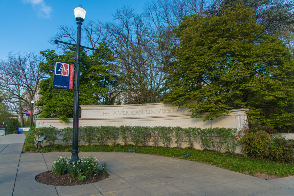 Entrance to American University
