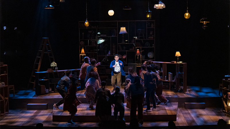 The Boy Detective at the Greenberg Theatre