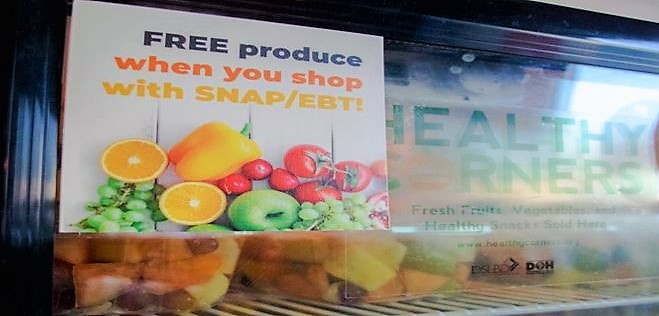 Free produce when you shop with SNAP/EBT