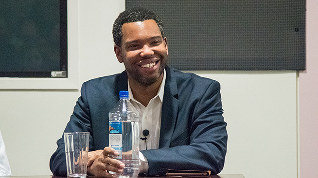 Ta-Nehisi Coates Speaks at AU