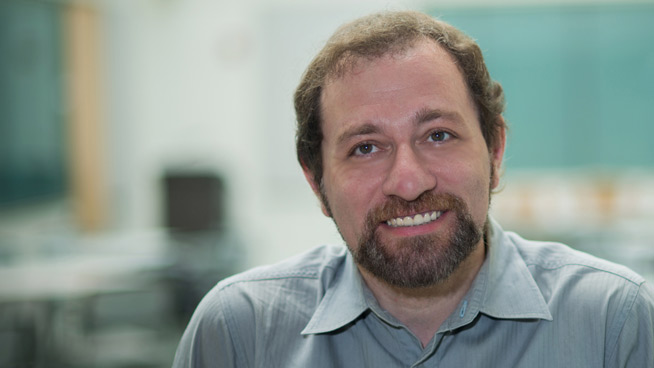 Meet New Prof Michael Baron