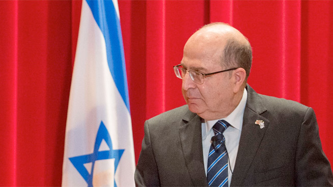 Yaalon at US Department of Defense, 2015.