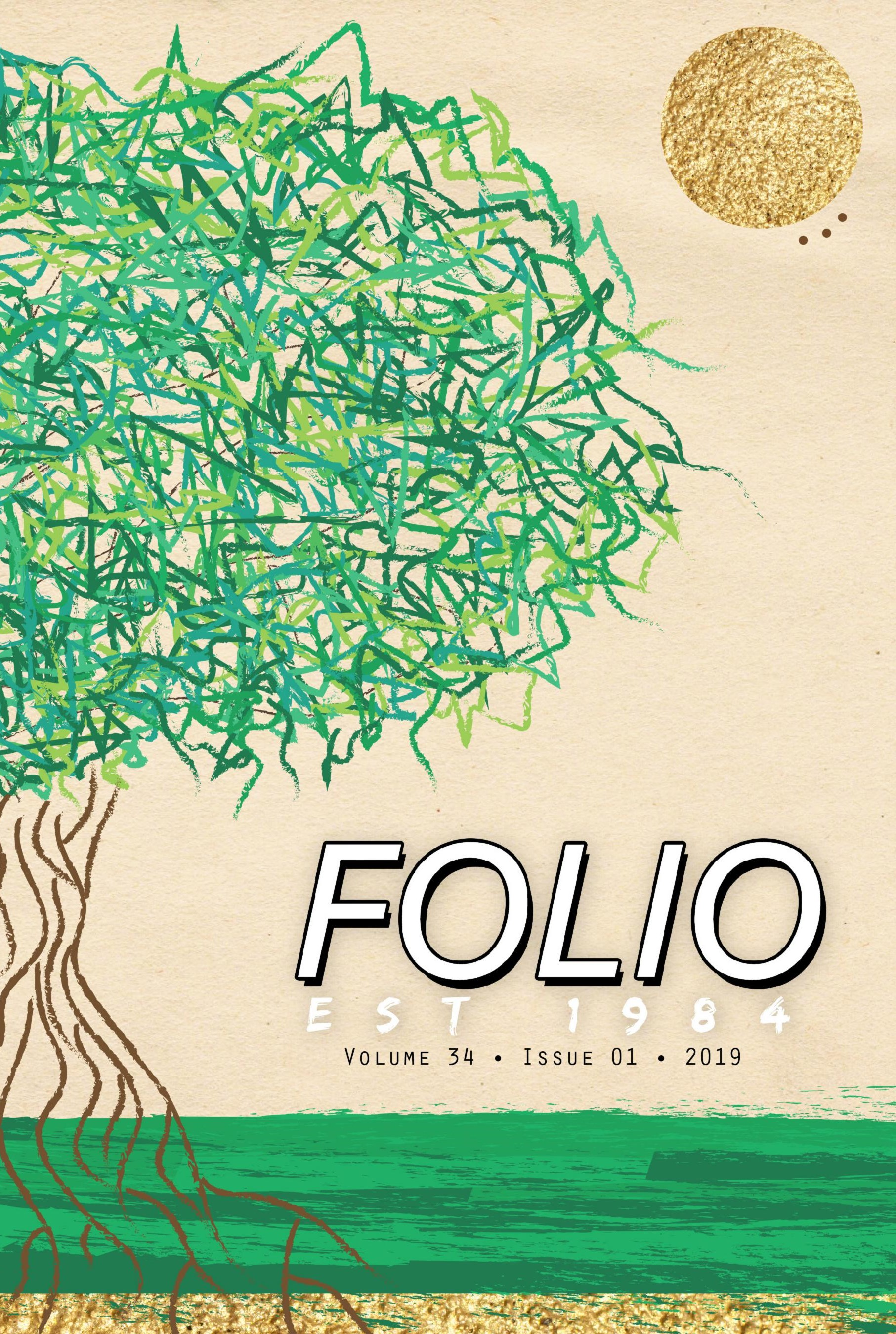 Folio Vol. 34 2019 Cover