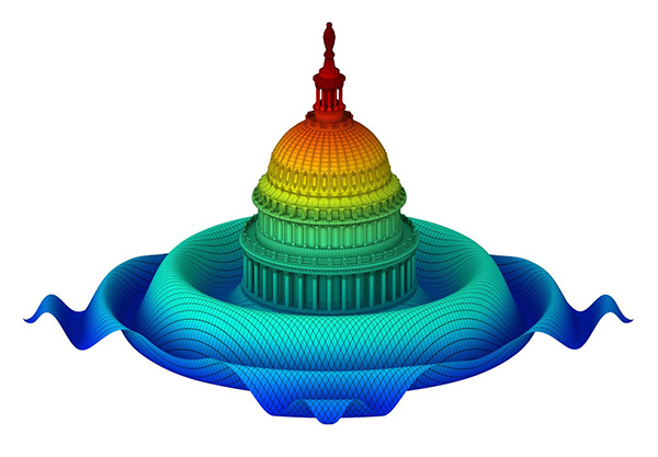 Capitol Dome Sinc Function