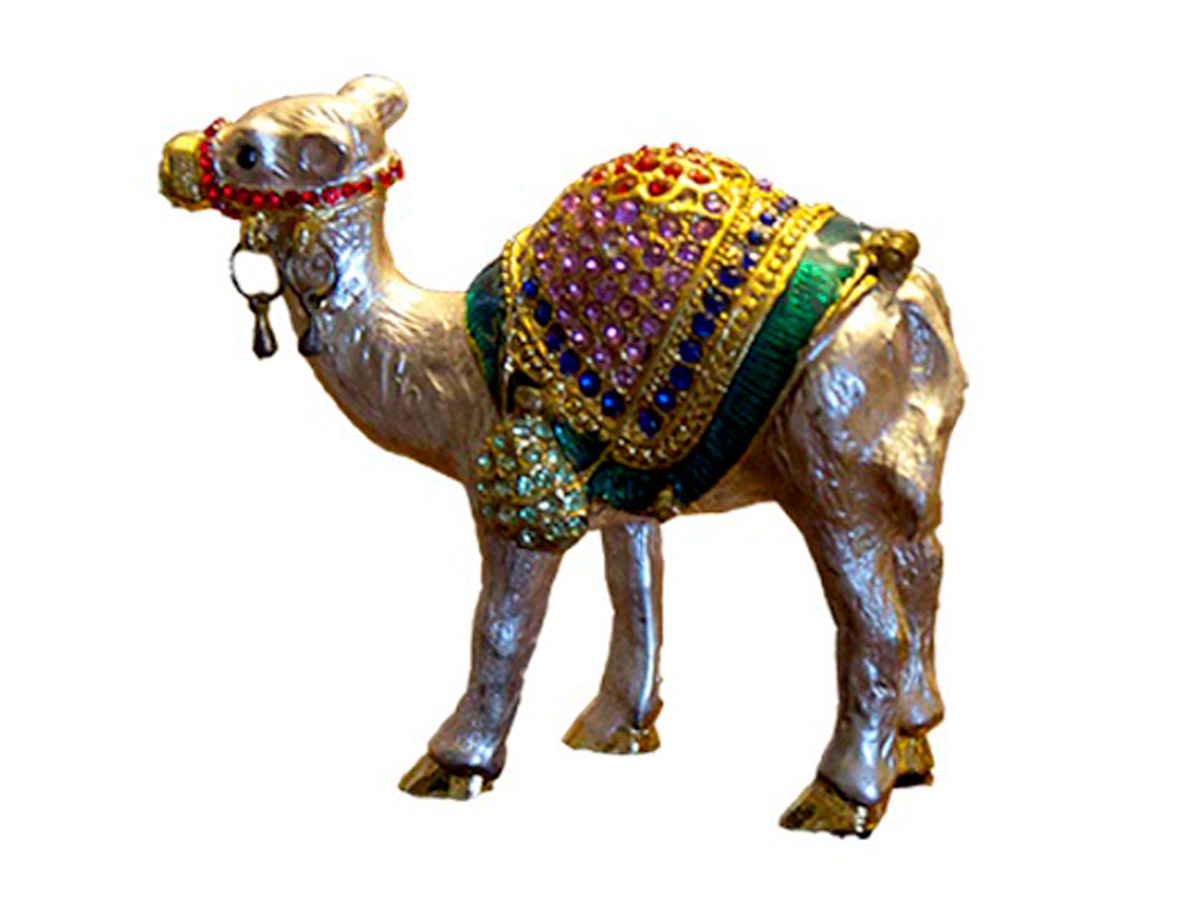 Camel Jewelry Box by Mandy Cooper