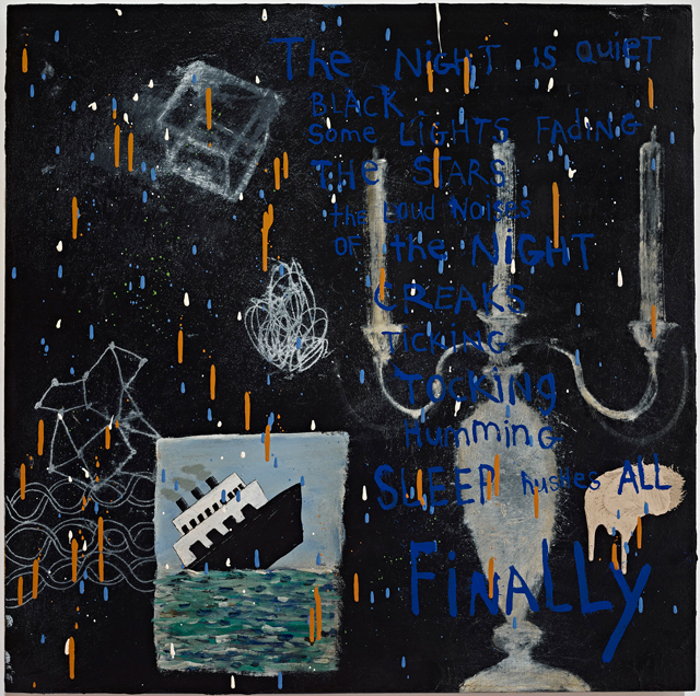 Night by Squeak Carnwath