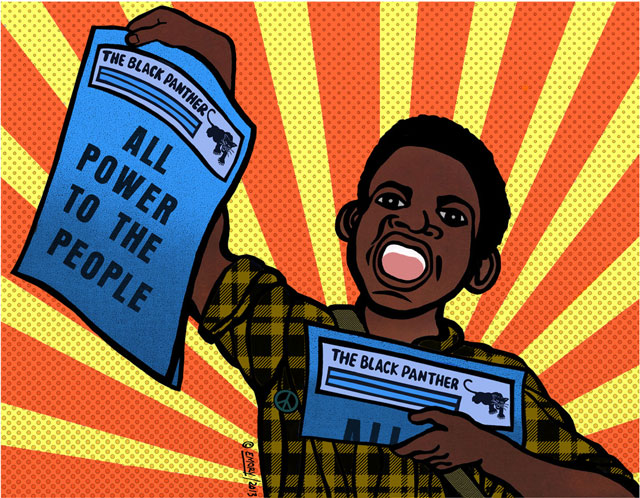 Paperboy by Emory Douglas