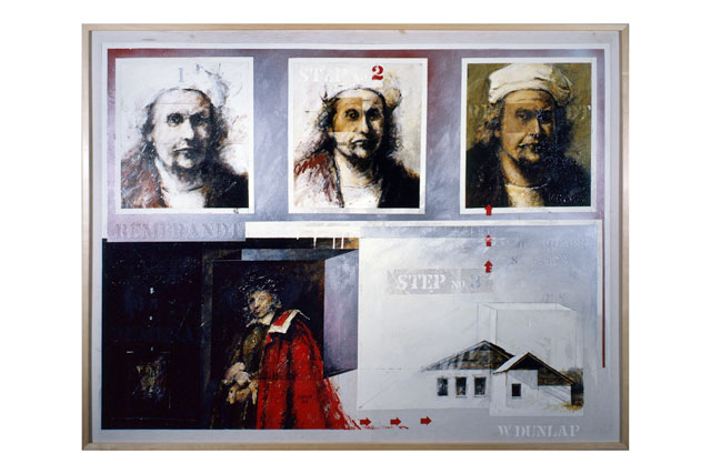 Learn to Paint Like Rembrandt in Three Easy Steps by William Dunlap