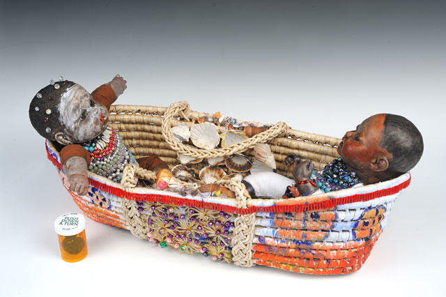 Ndelebe Cradle by Cheryl Edwards