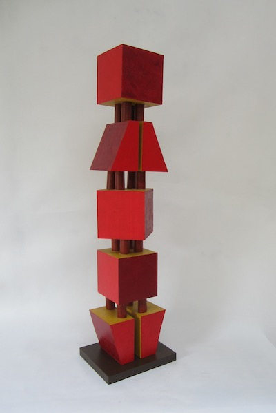 Nancy Frankel, Red Tower, 2018. Courtesy of the Artist.