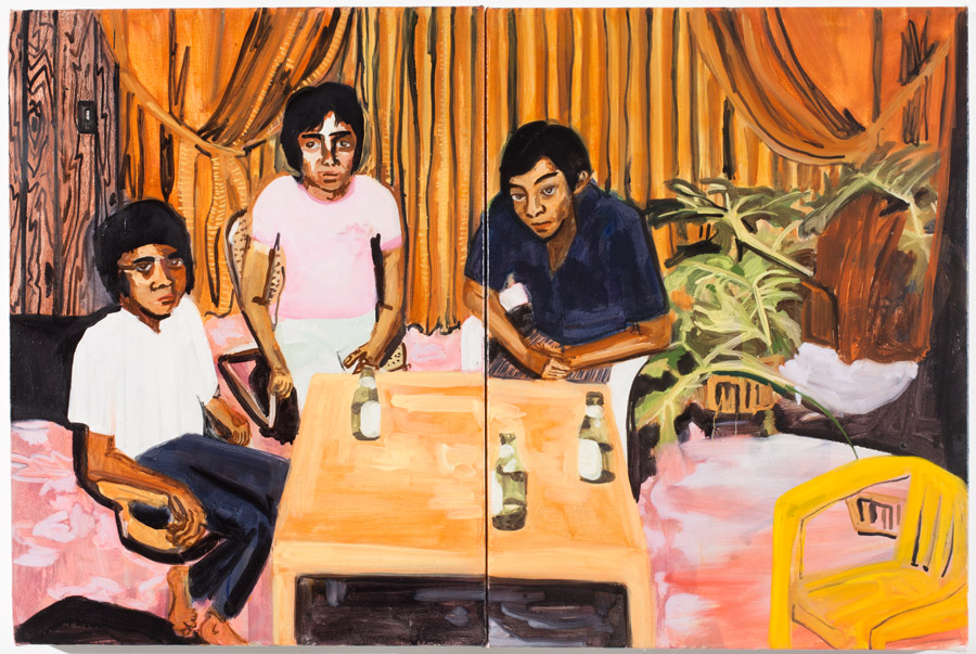 Maia Cruz Palileo, Uncles Drinking Beer II