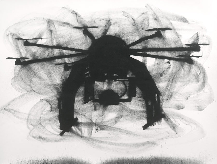 Beverly Ryan, Drone Silhouette 2