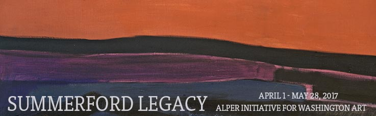 Summerford Legacy at AU Museum, April through May 28, 2017, from the Alper Initiative for Washington Art