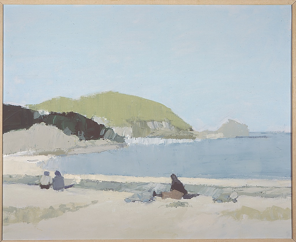 Ben L. Summerford, Costa Brava, 1967. Oil on canvas, 26 x 32 in. Gift of Margaret Bruce.