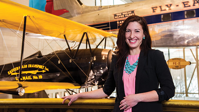 Aeronautics Intern Flying High at Air and Space Museum
