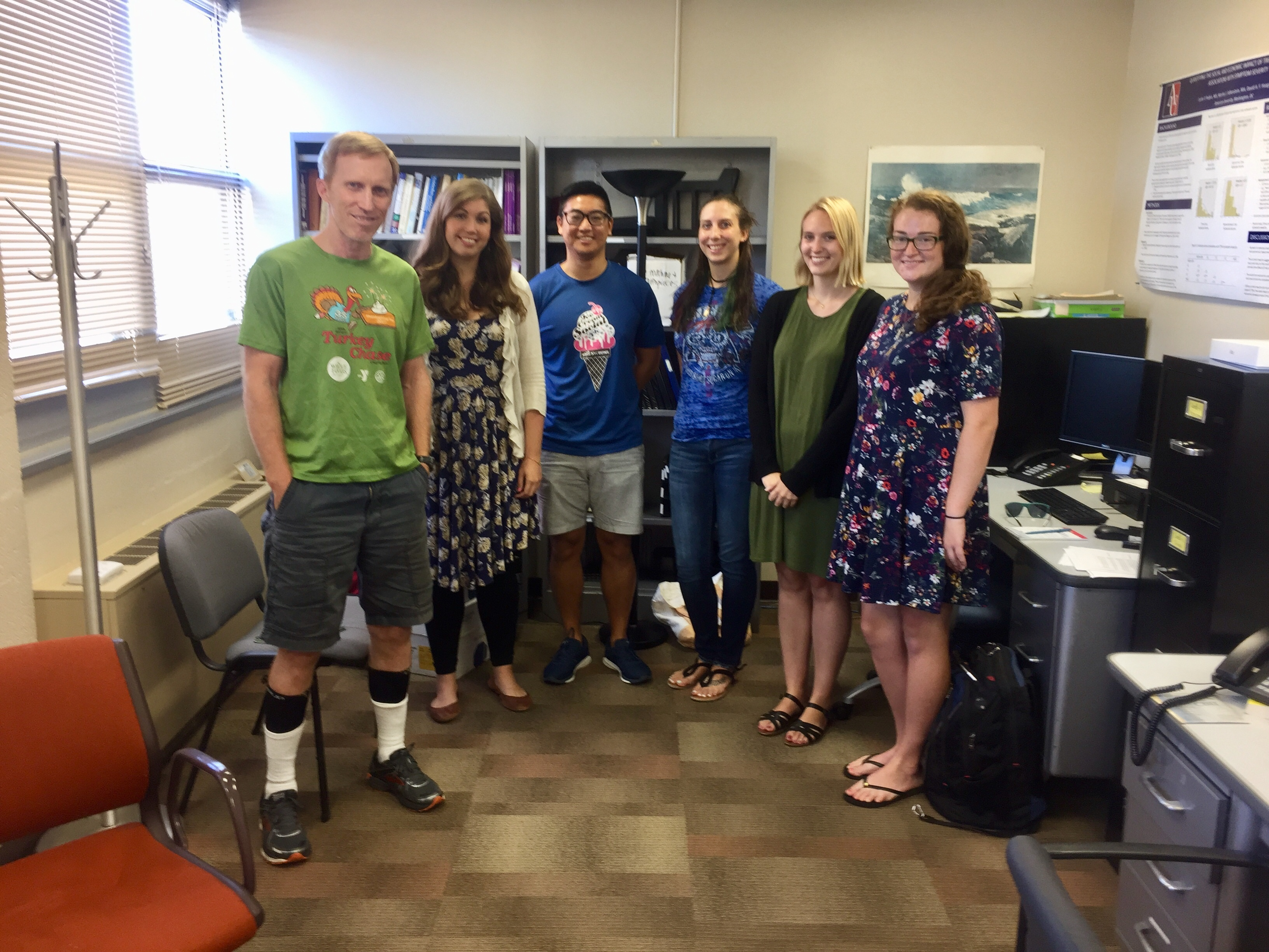 Dr. Haaga's lab - Fall 2018