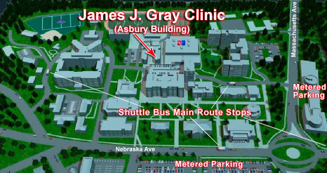 Location And Directions American University Washington DC - American university map
