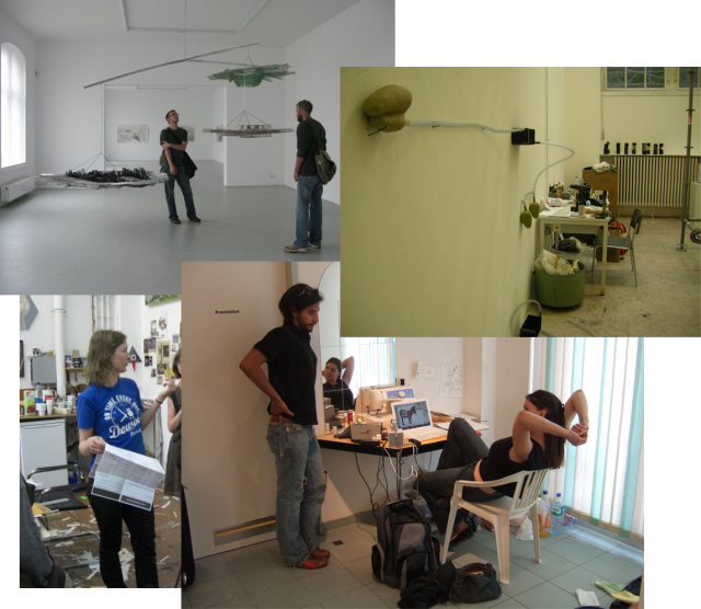 Studio visits, visiting artists, and guest critiques during previous programs.