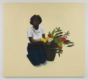 Lynette Yiadom-Boakye, The Courtesy of a Saint