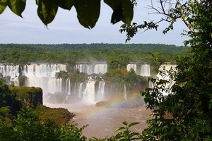 Igazu Falls in Brazil; Source: Fotopedia.