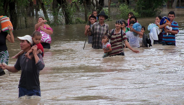 Flooding in El Salvador