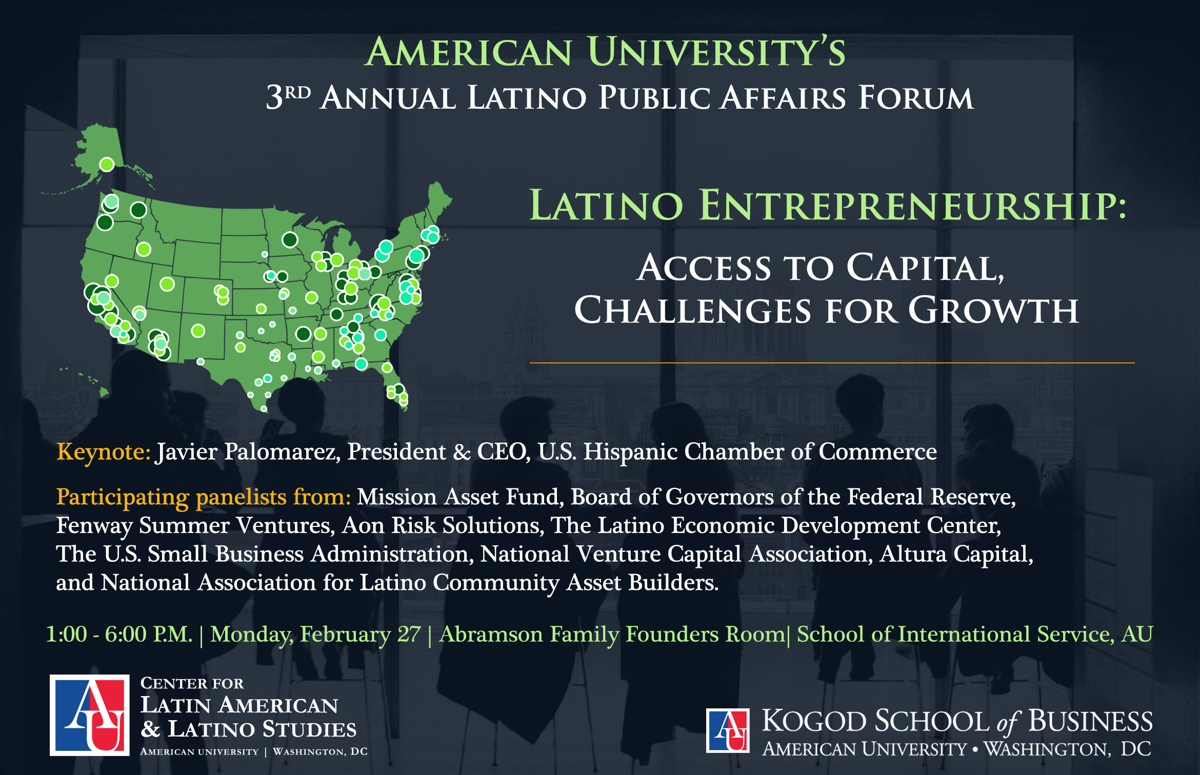 Annual Latino Public Affairs Forum | American University