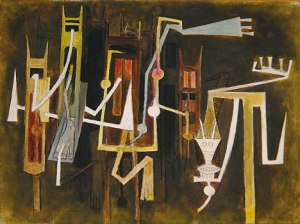 Horizons Chaud art work by Wilfredo Lam
