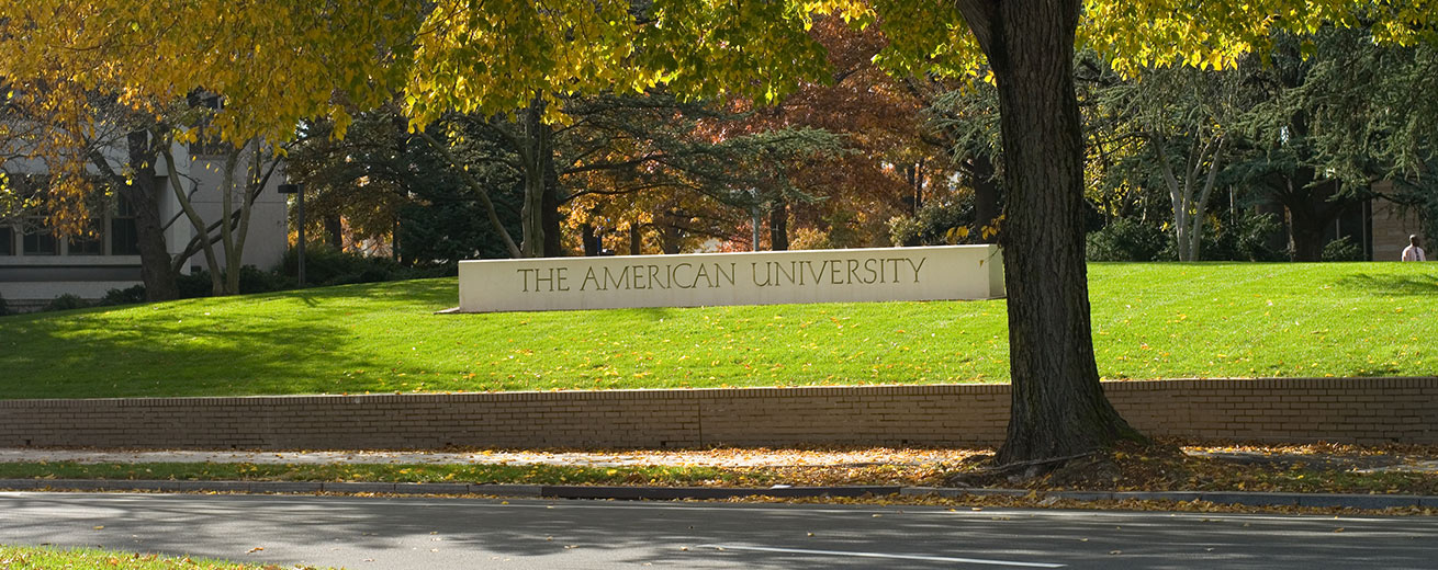 American University in the fall