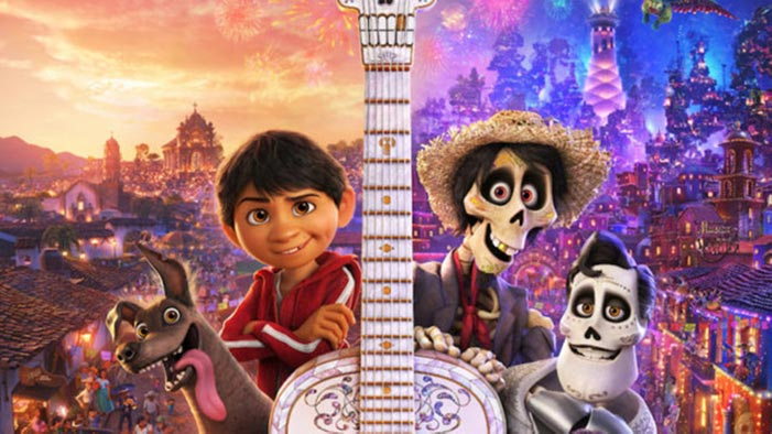 Promotional poster for the movie Coco