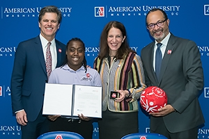 American University and Special Olympics sign a collaboration agreement