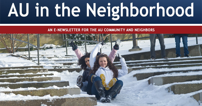 AU Community Relations newsletter February 2017