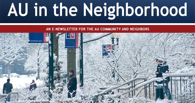 AU Community Relations newsletter January 2017