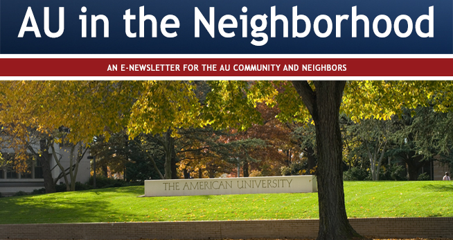 AU Community Relations newsletter October 2016