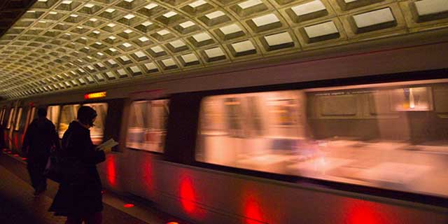 American University students explore all that DC has to offer via Metro.