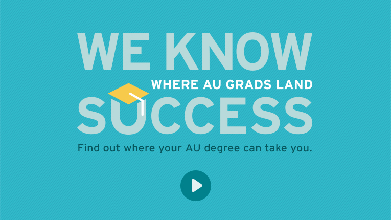 Video: We Know Success: Where AU Grads Land