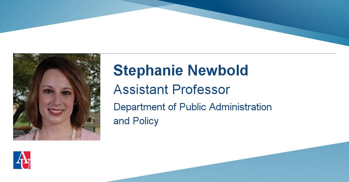 faculty profile  stephanie newbold