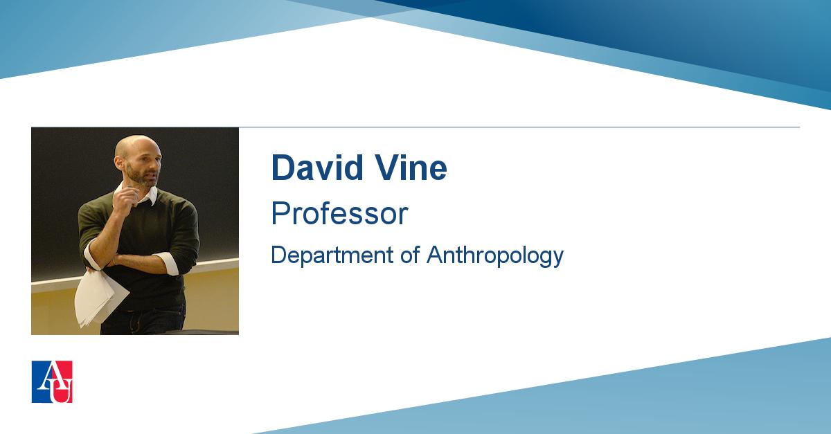 faculty profile  david vine