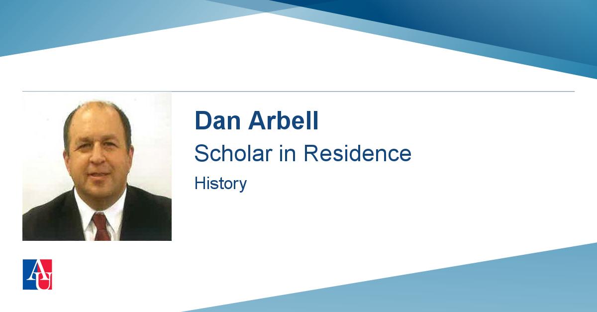 Faculty Profile: Dan Arbell