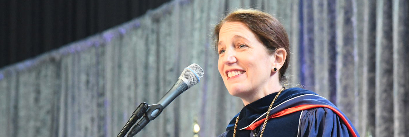 Sylvia Burwell gives her inaugural address